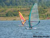 August - Windsurfen am Stubenbergsee