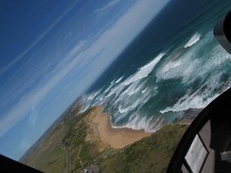 Great Ocean Road, Hubschrauberflug 12 Apostles