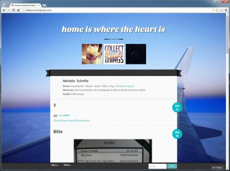 ein Screenshot fürs Archiv